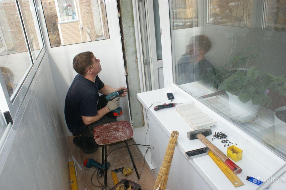 Ремонт остекления балкона своими руками.