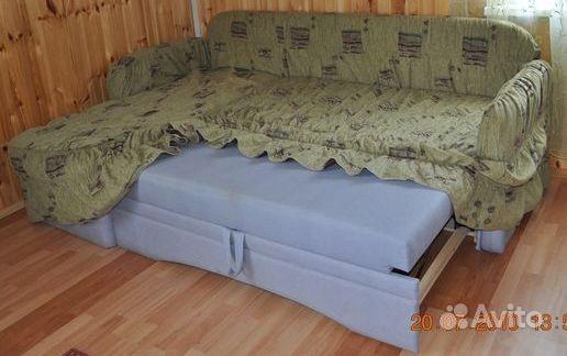Как быстро сшить чехол на угловой диван 32