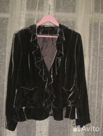 Велюровый пиджак как сшить 54