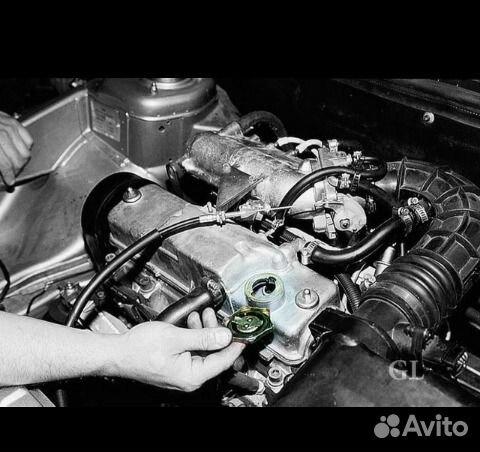 Замена двигателя на ваз