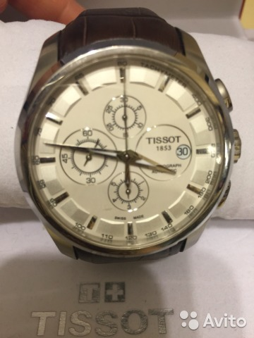 Часы TISSOT T035 T-CLASSIC COUTURIER