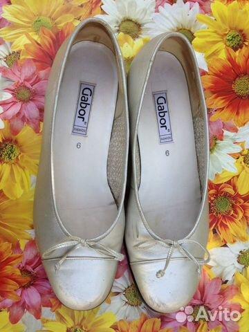 Туфли балетки gabor австрия р39