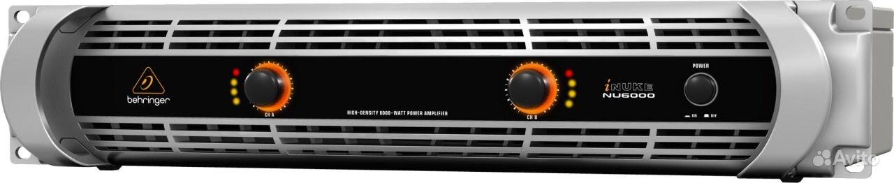 Behringer NU6000 Усилитель