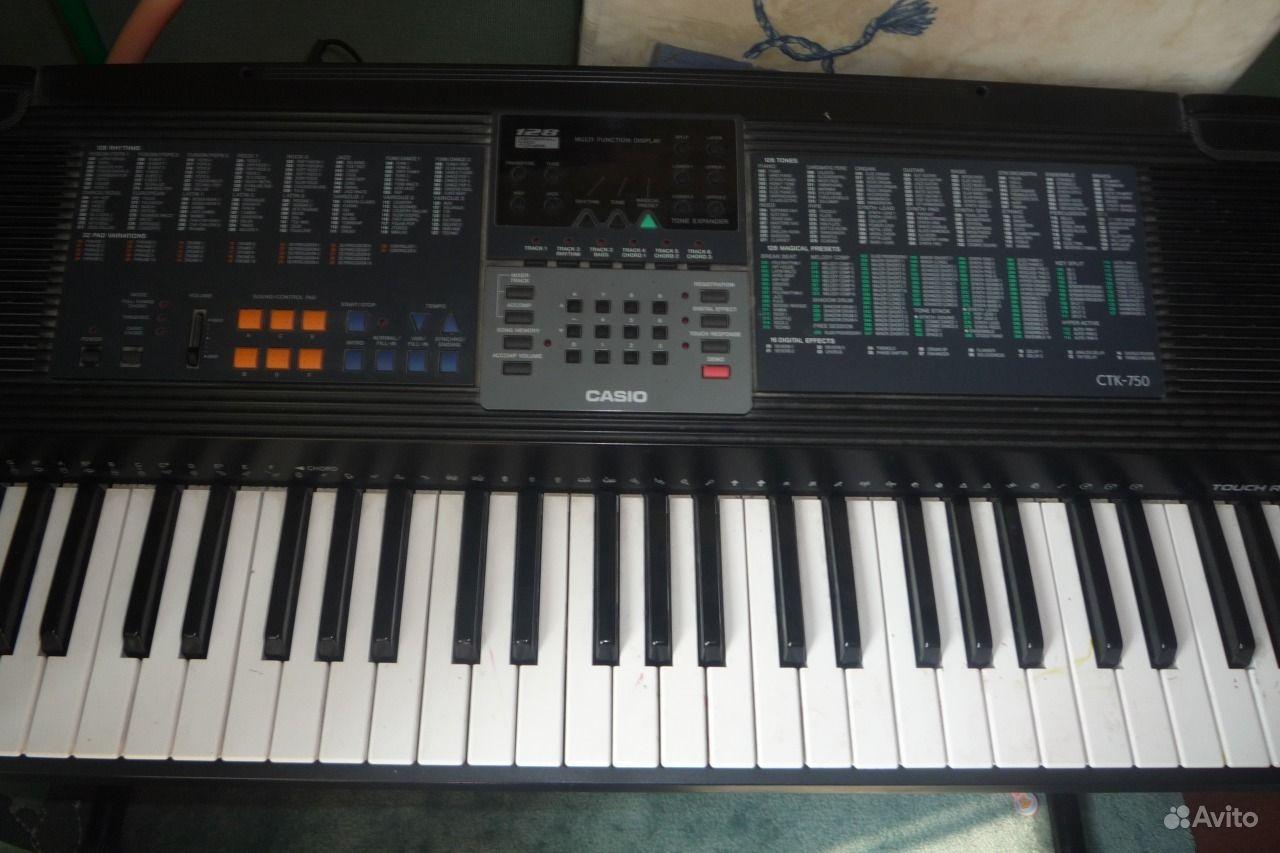 инструкция для синтезатор casio ctk-750