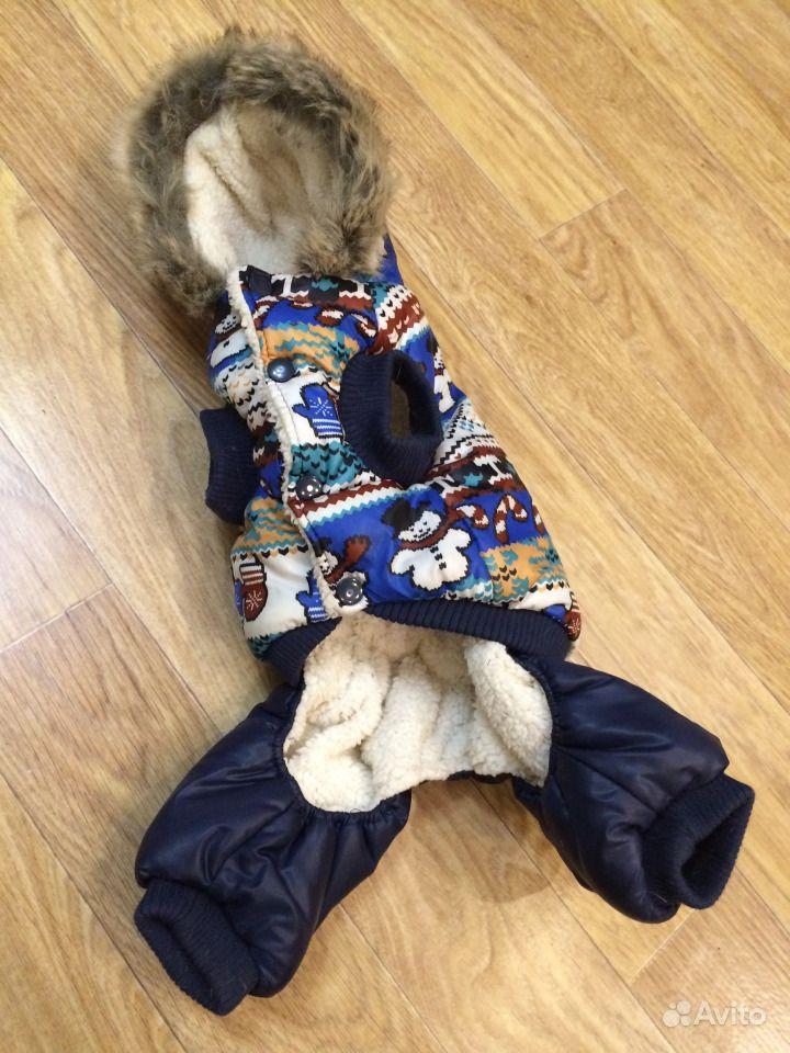 Зимняя куртка для собаки (размер M)
