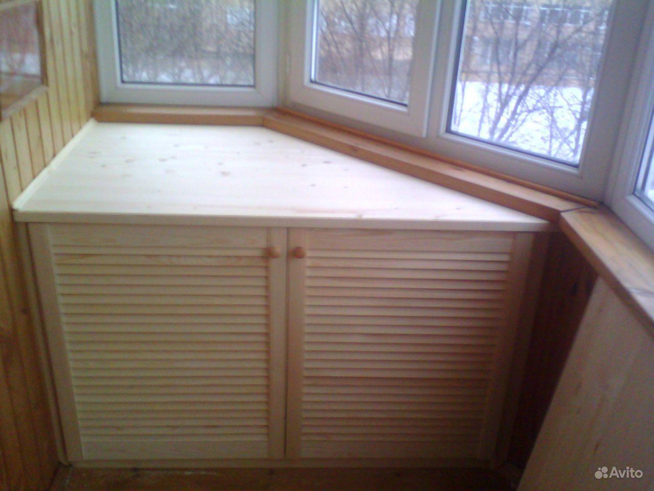 Мебель на балкон на заказ п-44..