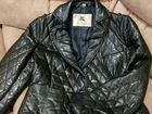 Кожаная курточка burberry