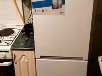 Холодильник с морозильником beko cnmv5310KC0W белы