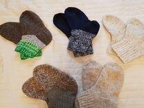 Носки вязанные шерстяные 17, 18,19 см
