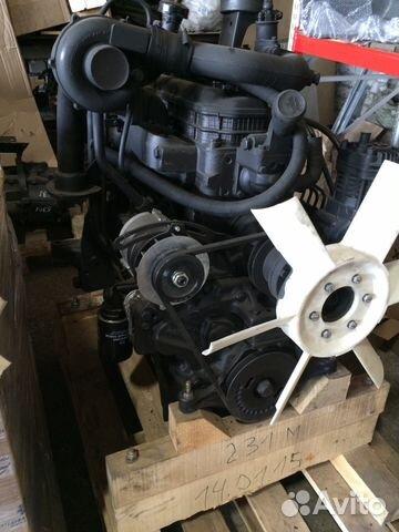 Двигатель Д-245.12С-231М на ЗИЛ-130 новый гарантия
