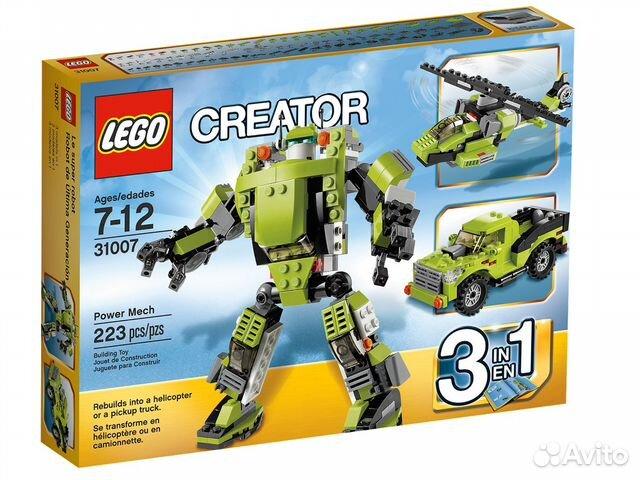 Lego creator наборы в