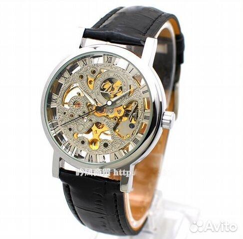 часы с прозрачным механизмом купить мужские каждое утро