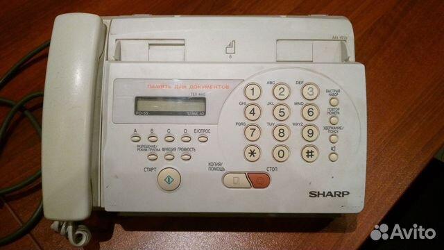 факс шарп fo-55 инструкция