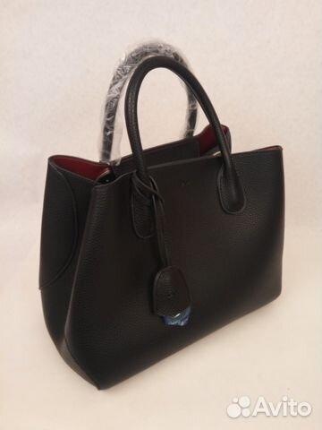 Сумка женская Кристиан Диор черная купить в Москве на Avito ... a6f63a9d2264e