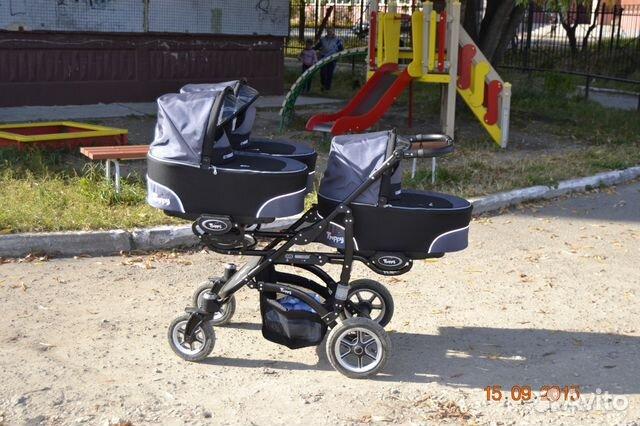 Коляска для тройни BabyActive