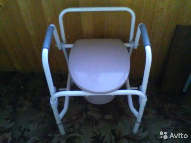 Кресло туалет б у