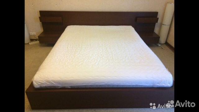 кровать двуспальная икеа мальм Festimaru мониторинг объявлений