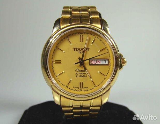Часы tissot seastar automatic 21 jewels