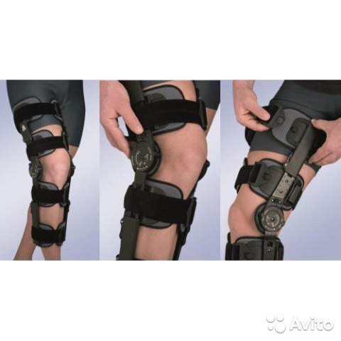 Ортез для коленного сустава orlett hks-303 ограничители на суставы orto