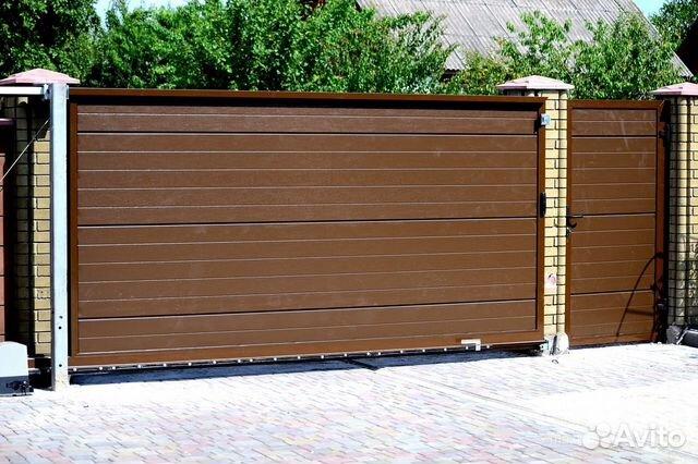 Ворота откатные новороссийск купить забор от производителя