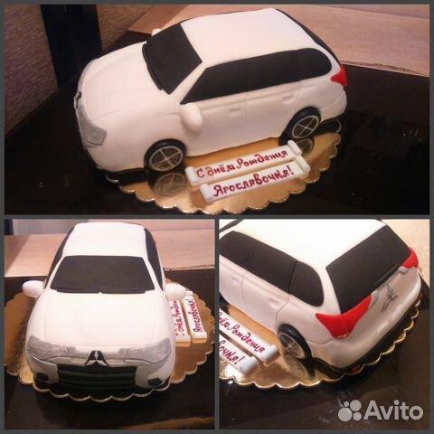 Где найти фото машину на торты