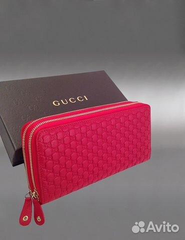 a0aa0ee1974b Женский кожаный кошелек Gucci арт.2001 купить в Москве на Avito ...