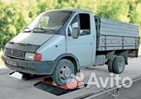 Lastbil skalor (axel-till-axel)