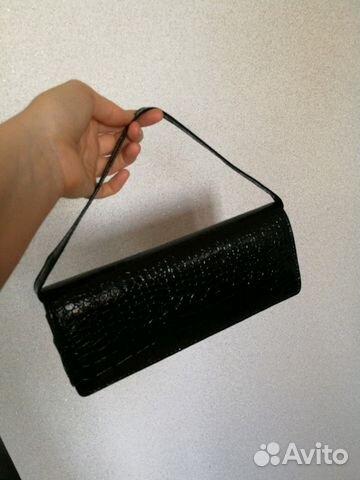 43700bfa5911 Клатч черный лакированный купить в Новосибирской области на Avito ...