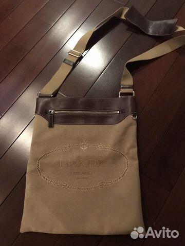 66448767725a Мужская сумка Prada оригинал | Festima.Ru - Мониторинг объявлений