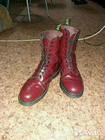 Ботинки Dr.Martens модель 1460 cherry red  ea30f28e3a702