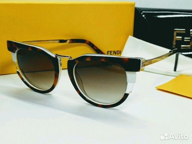 5367bf9fc2a6 Женские солнцезащитные очки Fendi фенди 0063.17 купить в Санкт ...
