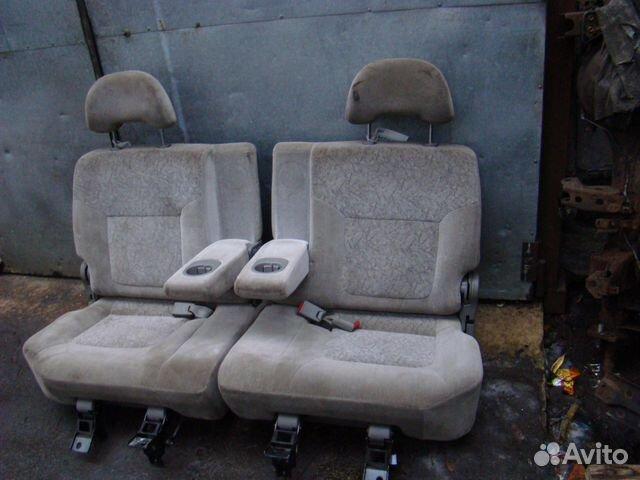 nissan patrol y61 99г сидения второго ряда купить в Санкт-Петербурге
