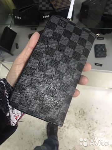 6a023ad8dd7c Клатч Louis Vuitton Серый с ручкой в Самаре   Festima.Ru ...