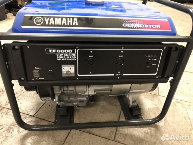 Генератор Yamaha EF 6600 89139853596 купить 1