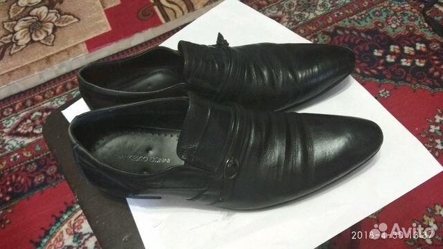 Туфли кожаные мужские 89301297093 купить 1