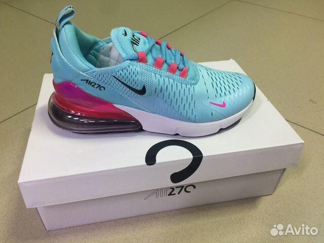 eafd6a03 Новые фирменные кроссовки Nike Air Max 270 Blue купить в ...