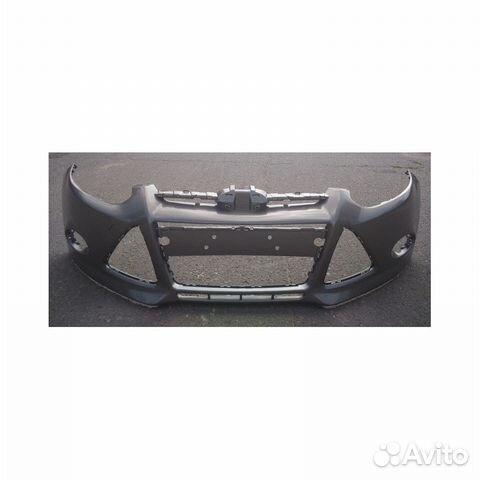 Бампер Форд Фокус 3 - новый в цвет luner SKY