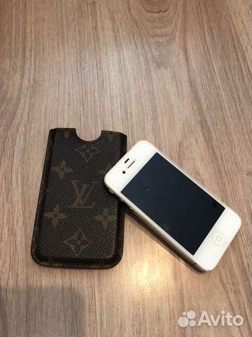 Чехол Louis Vuitton оригинал в подарок iPhone4   Festima.Ru ... 214518df3a3