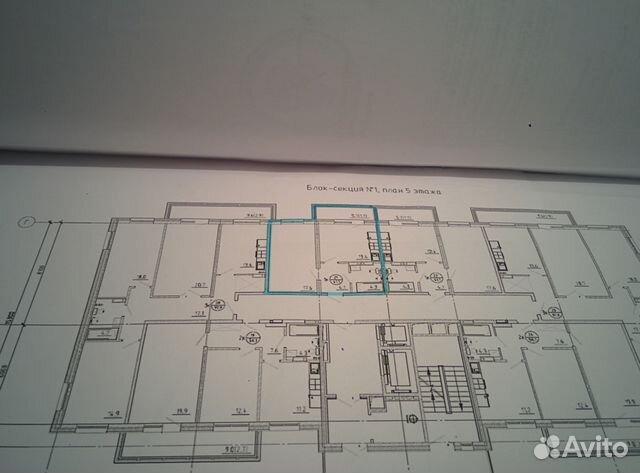 1-к квартира, 41.1 м², 5/18 эт.