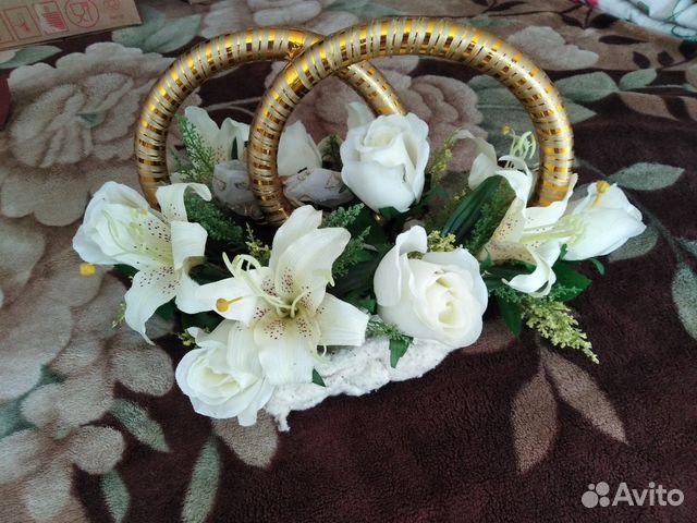 629b58e94ab94 Свадебный букет на машину купить в Ленинградской области на Avito ...