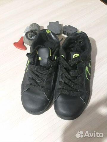 5158cdfb Продам детские кроссовки 33-32 размер на колесах   Festima.Ru ...