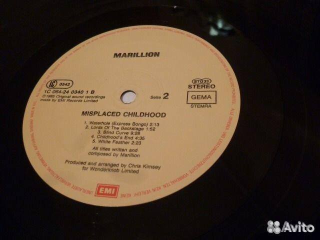 Marillion / Мarc Bolan