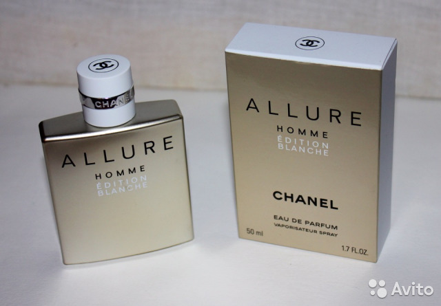 Chanel Allure Homme Edition Blanche 100ml мужские купить в
