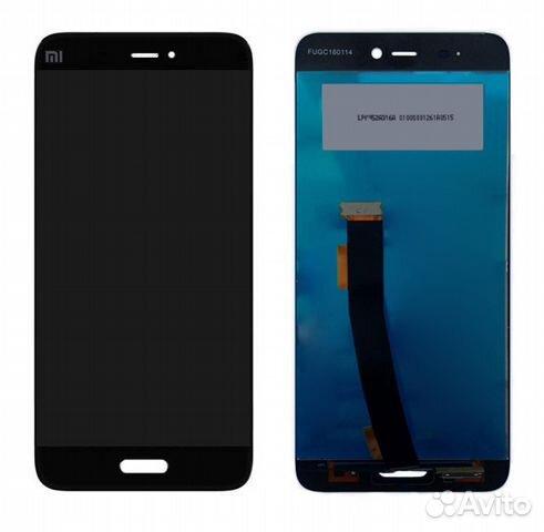a4d440fed1f Дисплей Xiaomi Mi5 в сборе черный купить в Москве на Avito ...