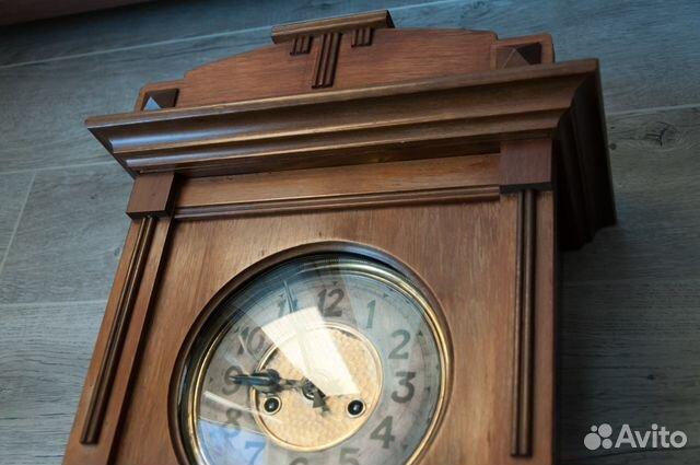 Часы настенные Gustav Becker, старинные. 1912 г купить 8