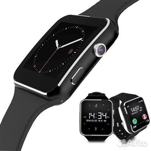 Умные часы smart watch X6  1aada8ebb384c