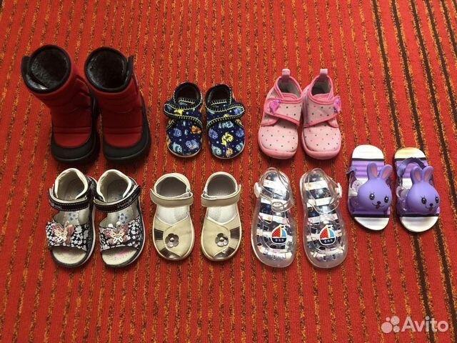 1bd27f413 Детская обувь (для девочки) р. 20-24 купить в Тульской области на ...