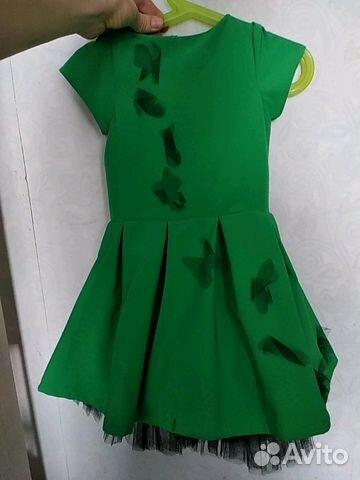 cbda20de33b Платье для девочки нарядное купить в Новосибирской области на Avito ...