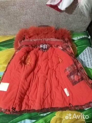 Продам зимнюю куртку на синдипоне для девочки  89642441584 купить 2