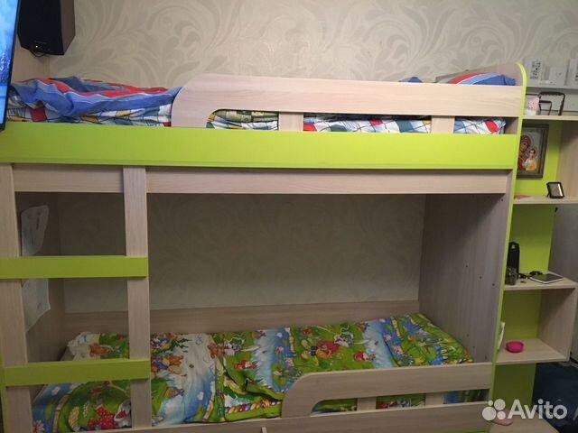 Детская двухэтажная кровать 89531389168 купить 1